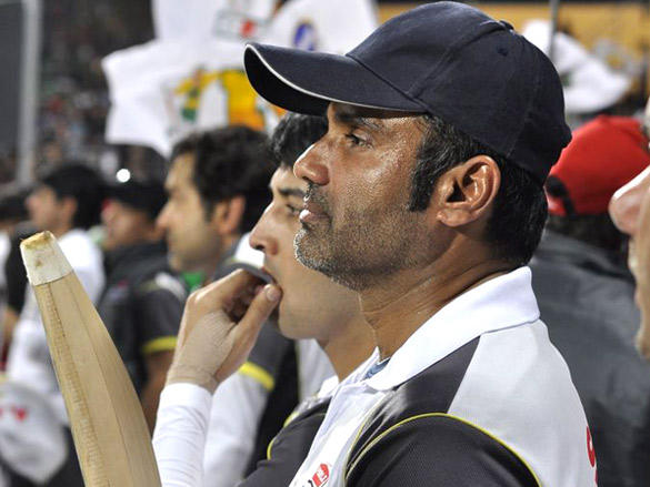 Sunil Shetty  at Mumbai Heroes CCl 2 match