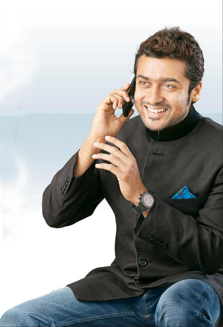 Surya in Aircel New Ad Wallpaper