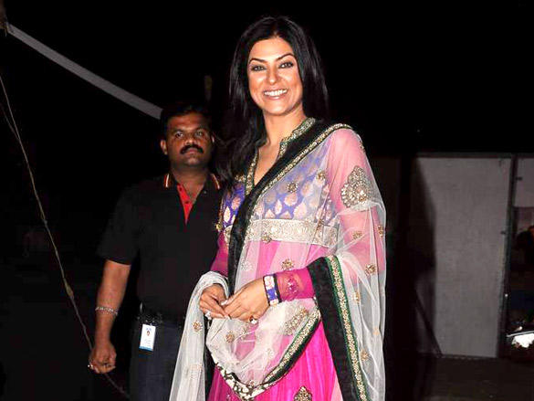Sushmita Sen at Umang 2012