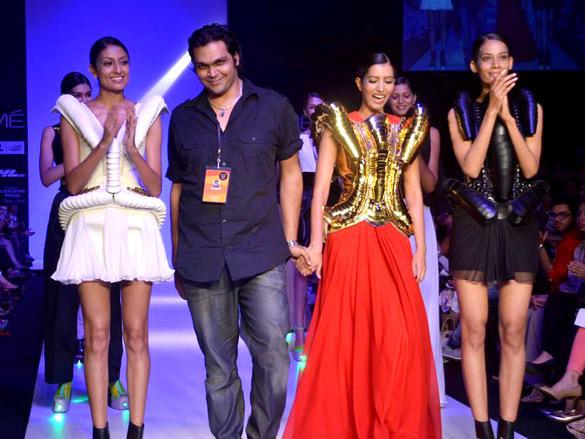 Swapnil Shinde show at Lakme Fashion Week  2012 Day 4