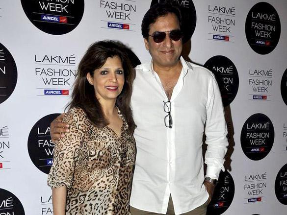 Talat Aziz,Bina Aziz at Swapnil Shinde show at Lakme Fashion Week