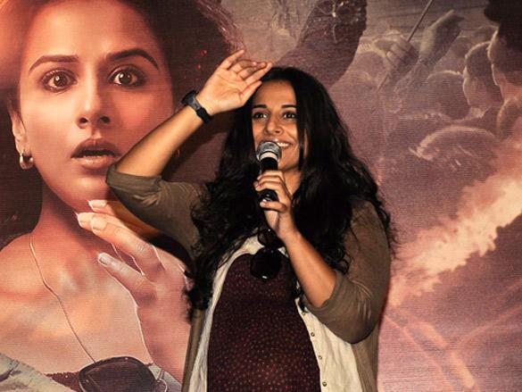 Talented Vidya unveils her upcoming movie