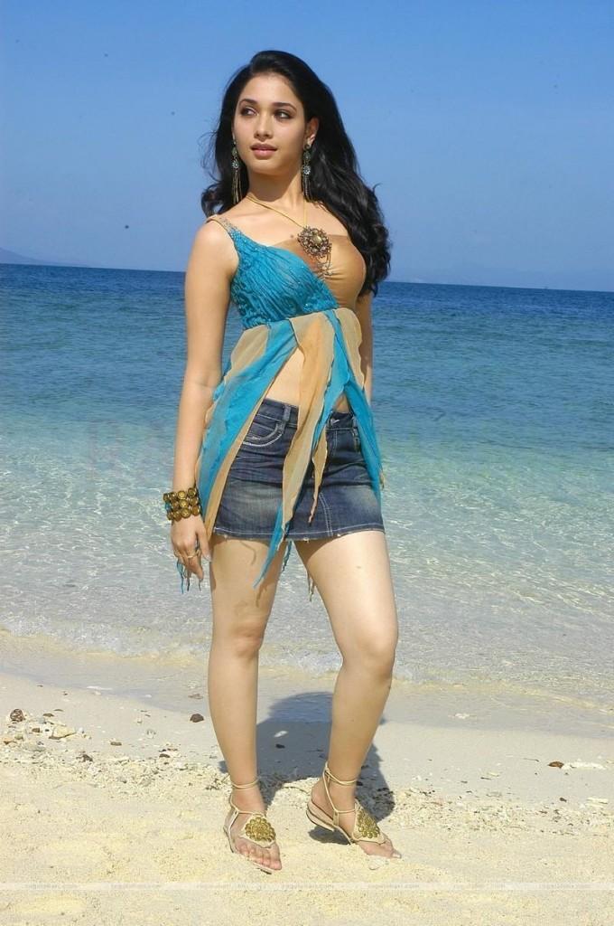 Tamanna Bhatia Sexy Photo Shoot On The Beach