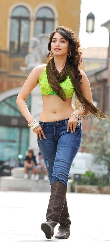 Tamanna Latest Hair Style Stylist Pose in Badrinath