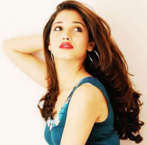 Tamanna Red Lips Sizzling Photo Shoot