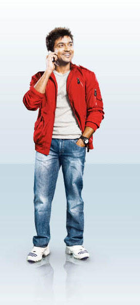 Tamil Actress Surya in Aircel new ad photo
