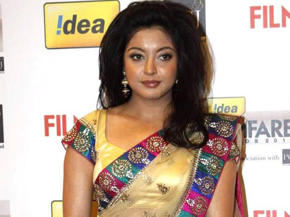 Tanushree Dutta arrives at the 57th Idea Filmfare Awards