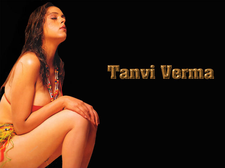 Tanvi Verma Latest Romancing Wallapper