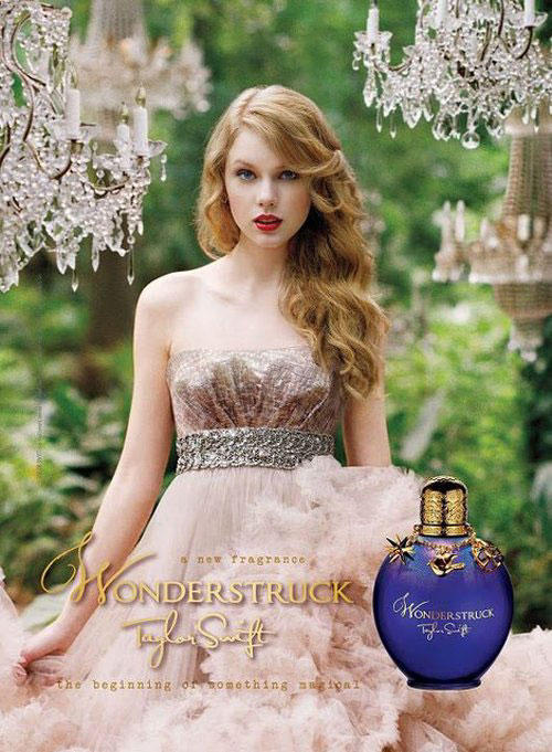 Taylor Swift Wonderstuck Perfume Awesome Face Look