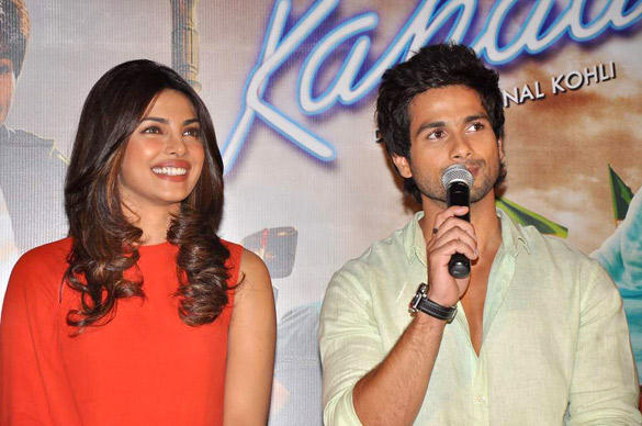 Teri Meri Kahani Promo Launch by Shahid and Priyanka