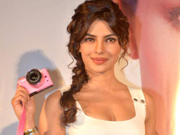 The Glam Diva Priyanka Chopra Launches New Nikon 1 Camera