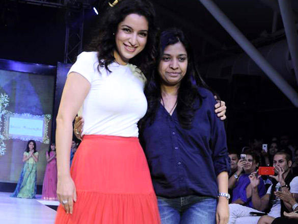 Tisca Chopra at India Kids Fashion Week