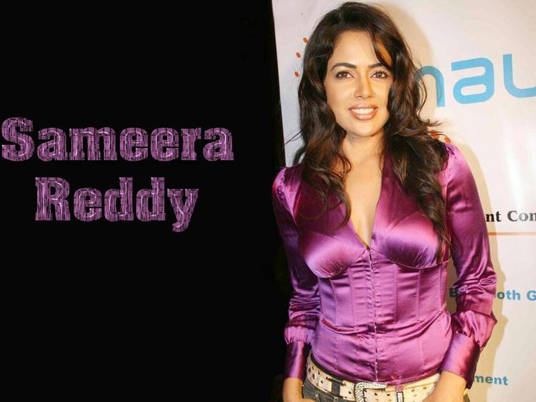 Tollywood Pretty Sameera Reddy Wallpaper