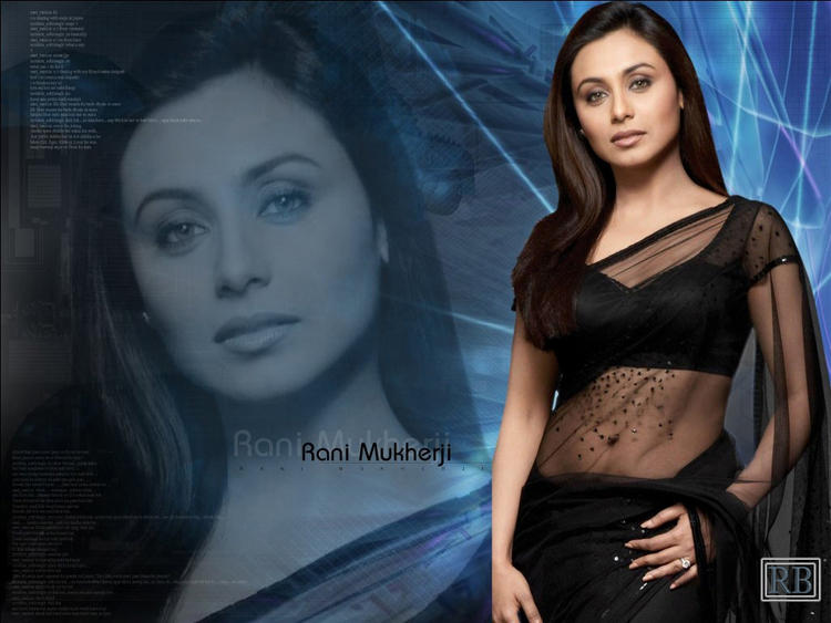 Top Bollywood Actress Rani Mukherjee Wallpaper