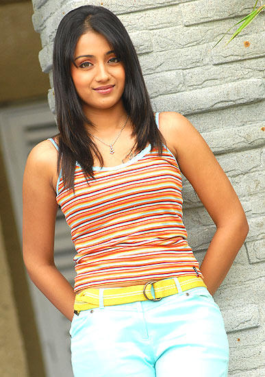 Trisha Beautiful Face Look