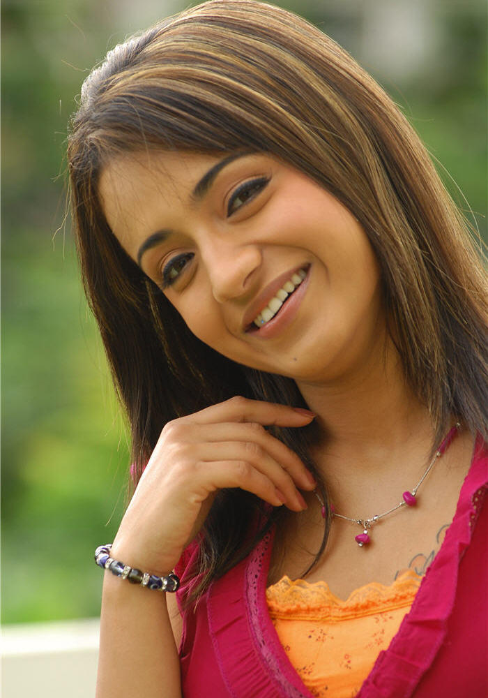 Trisha Cute Sweet Smile Photo