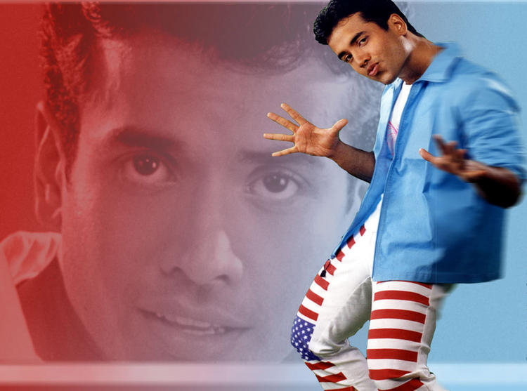 Tusshar Kapoor Cute Sexy Pose Wallpaper