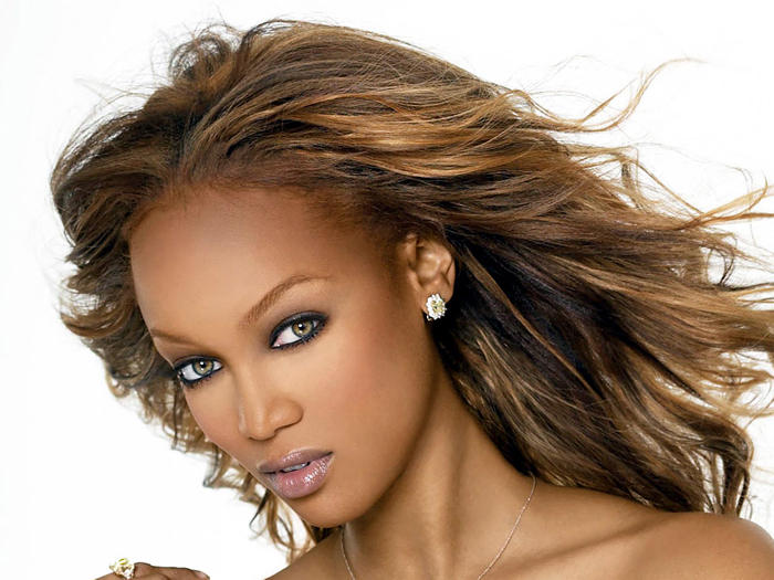 Tyra Banks Beauty Wallpaper Pic