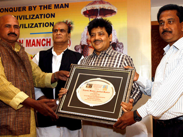 Udit Narayan Launches The Film Vishwa Manav Jagran Manch