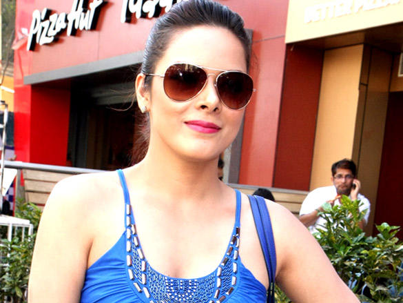 Udita Goswami at promote Diary of a Butterfly