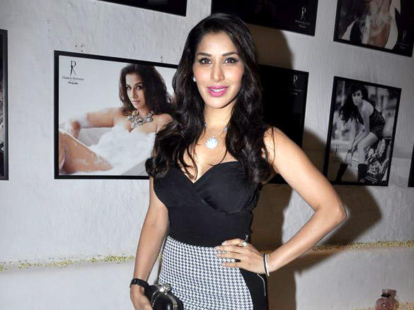 VJ turned actor and singer Sophie Chaudhary at Daboo Ratnani's 2012 Calendar Launch