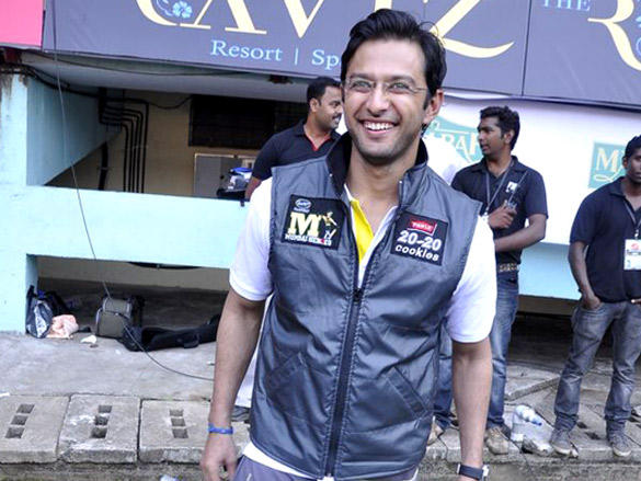 Vatsal Seth at Mumbai Heroes CCl 2 match
