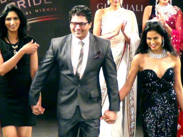 Veena Malik snapped as the show stopper for Riyaz Gangji show