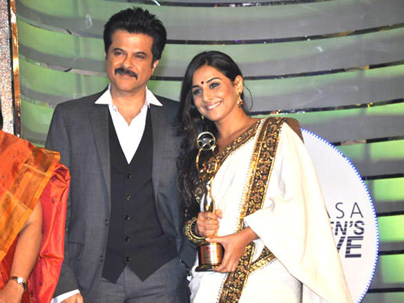 Vidya Balan,Anil Kapoor at Lavasa Women's Drive Awards in Lalit Hotel