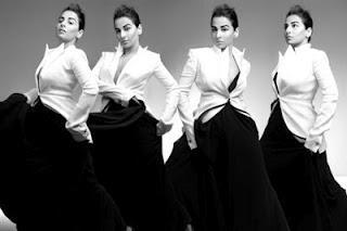 Vidya Balan Hot Photo Shoot For Harpers Bazaar India