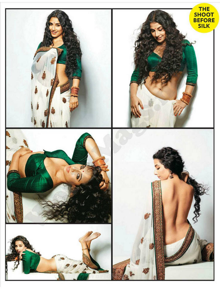 Vidya Balan Latest Hot Photo Shoot For FHM