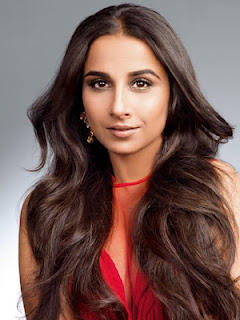 Vidya Balan Long Hair Romantic Look Photoshoot For Harpers Bazaar India