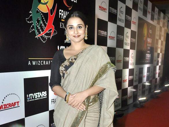 Vidya Balan Looking So Beautiful in Saree