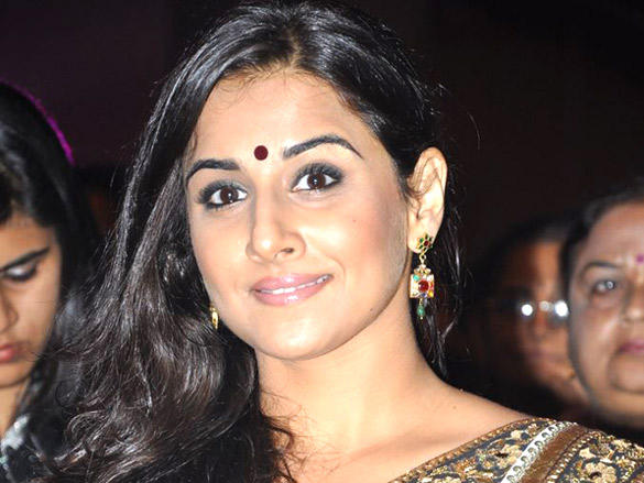 Vidya Balan gorgeous face at Lavasa Women's Drive Awards 2012