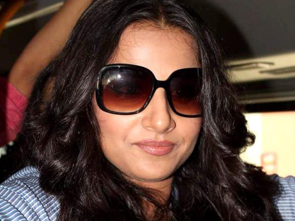 Vidya Balan hot face look