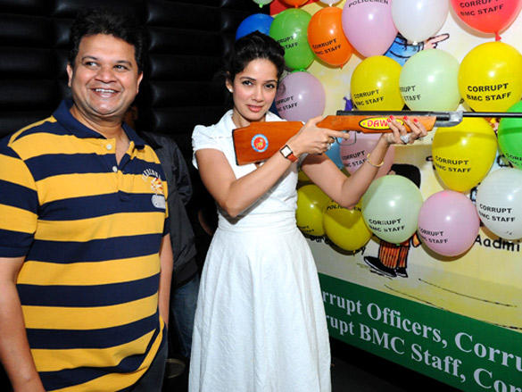 Vidya Malavade,Viren Shah at Happy Slappy party
