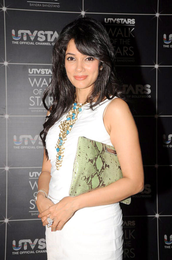 Vidya Malvade Spotted UTV Stars Walk Of The Stars After Party Event