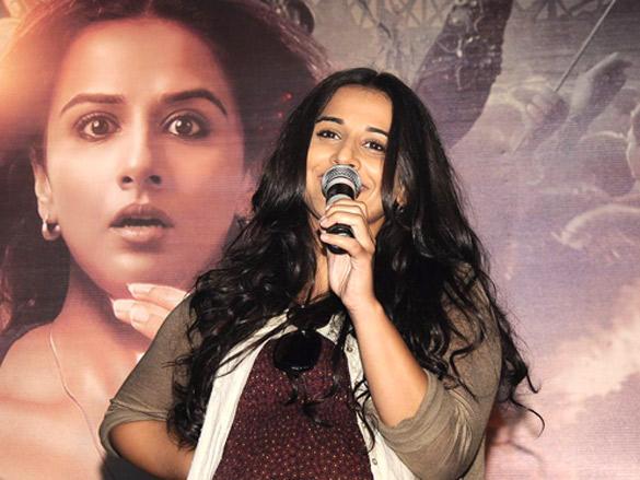 Vidya Balan speaks on the Kahani Promo Event