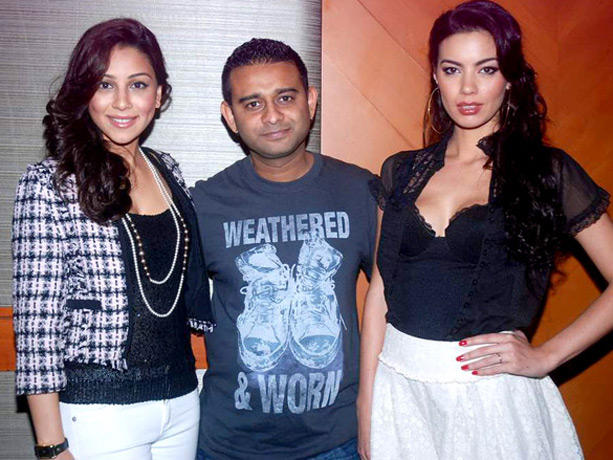 Vishal Mahadkar,Amrita and Mia Poses To Photo Shoot
