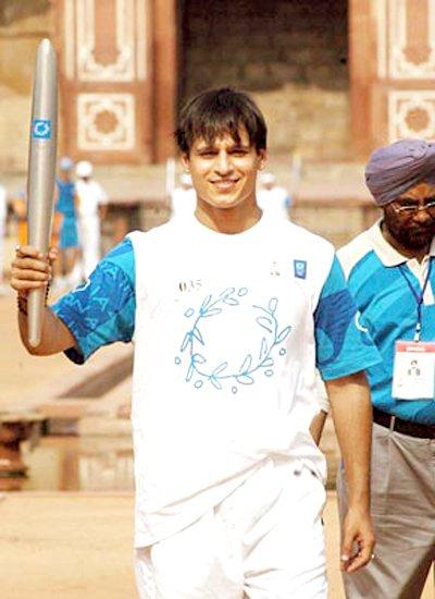 Vivek Oberoi At Olympics