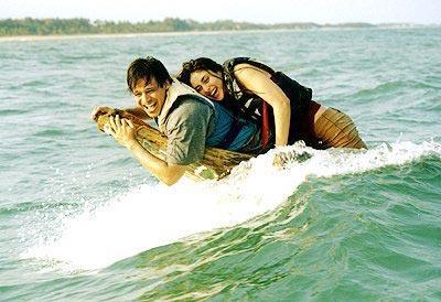 Vivek Oberoi and Kareena Latest Still In Water