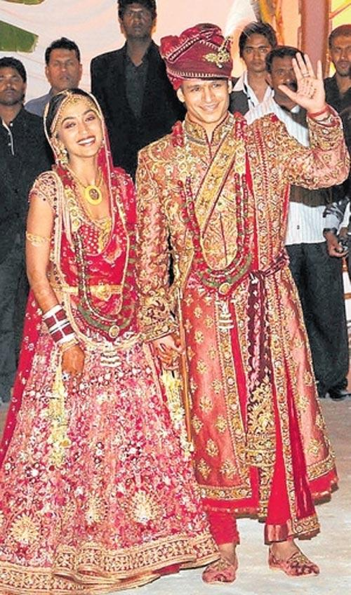 Vivek Oberoi and Priyanka Wedding Still