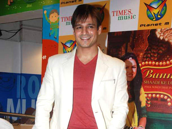 Vivek Oberoi at Rajnigandha's album 'Banna Re' launch
