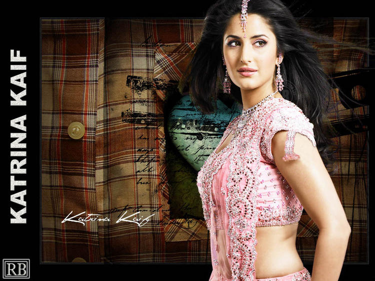White Babe Katrina Kaif Wallpaper