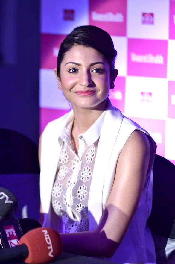Women's Health inaugural issue launches by Anushka Sharma