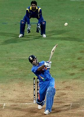 World Cup 2011 Final India VS Sri Lanka Dhoni Winning Shots
