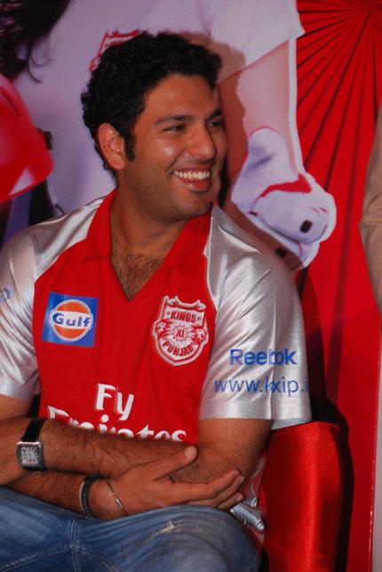 Yuvraj Singh Smilling Face Still