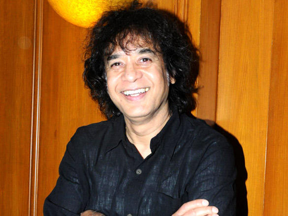 Zakir Hussain at launch of Deepak Pandit's album Miracle