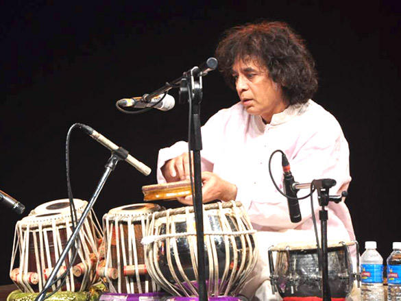 Zakir Hussain concert organised by Sahchari foundation
