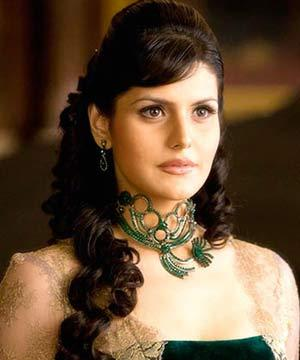 Zarine Khan Latest Hair Style In Veer