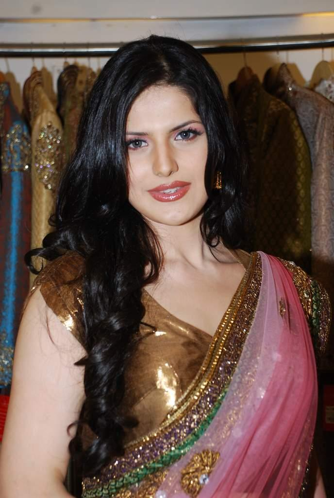 Zarine Khan at the Launch of Veer Libas Collection